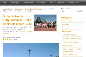 Aigues-Vives: le site d'information du village.