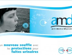 AMD (Active Medical Disposable): Site de présentation officiel