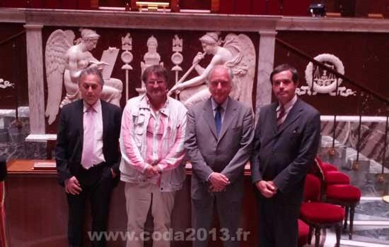 Ki Solutions invité à l'Assemblée Nationale pour son action de soutien au Comité d'Organisation Gaston Doumergue
