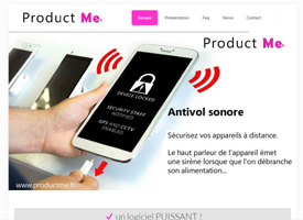 Product Me (site officiel du logiciel)